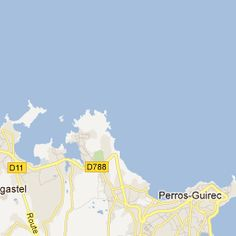 map-destination Perros-Guirec for Jeremy and Sophie's wedding!