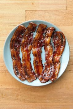 Makin' Bacon: 80 Mouthwatering Dishes Starring the Magical Meat -- Beer Glazed Bacon (PopSugar)