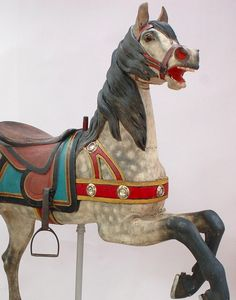 When im rich (haha) I think it would be cool the have carousel horses as saddle racks