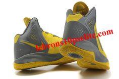 more photos 07ef5 365e1 Nike Zoom Hyperenforcer Ash Yellow
