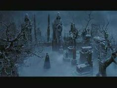 """One of my favorite movie scenes: """"Wishing You Were Somehow Here Again"""" from the 2004 version Phantom of the Opera. I believe the haunting yet beautiful graveyard scenery is a replica of such French cemeteries as the Montparnasse and the Pere Lachaise cemeteries."""