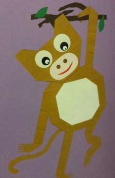 * Vouwen: aap