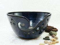 XL-GARNSCHALE / YARN BOWL / WOLLSCHALE aus Keramik