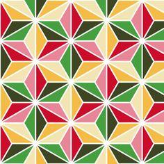 isosceles SC3i - xmas (ipernity) fabric by sef on Spoonflower - custom fabric
