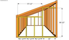 Step by step diy project about lean to greenhouse plans. Building a lean to greenhouse is a great weekend project, especially if you want to grow your own vegetables. Lean To Greenhouse, Greenhouse Plans, Greenhouse Frame, Greenhouse Wedding, Cheap Greenhouse, The Plan, How To Plan, Building A Door, Shed Storage