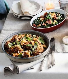 Sautéed greens with fried salami crumbs :: Gourmet Traveller Magazine Mobile
