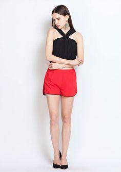 4b6a0d70f26 YIGELILA Ladies Fashion Sleeveless Sexy Black Halter Top 7166, View halter  top, YIGELILA Product Details from Jiujiang Success Knitting Garment Co.,  ...