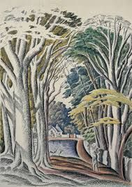 eric ravilious watercolour landscape artist - Google Search
