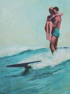 T.S. Harris - Tandem Surfers