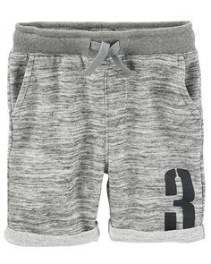 4dc52faba Baby Boy French Terry Varsity Shorts from OshKosh B gosh. Shop clothing   amp