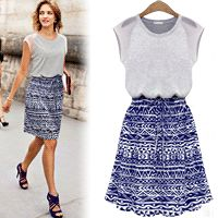 Ethic Pattern Dress  – One Size [ Jun11599NS ] ★ Limited Sale Time Only ★ - $49.00 #onselz