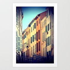 MARSEILLE Le Panier neighborhood Art Print by WAMTEES - $17.68