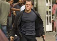 Matt Damon as Jason Bourne (The Bourne Identity, The Bourne Supremacy, The Bourne Ultimatum) The Bourne Ultimatum, Bourne Supremacy, Great Films, Good Movies, Akira, Matt Damon Jason Bourne, Bourne Movies, Bourne Legacy, Movies