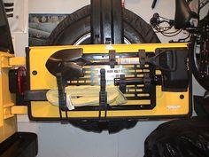 jeep rear shovel rack - Google Search
