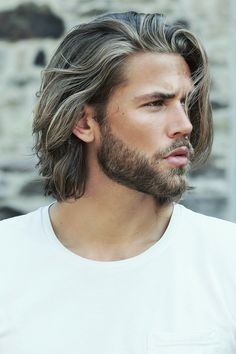 Longer hair than most guys have. But, hey, if you can actually pull it off, go for it! Ben Dalhaus - Professor Kirby Inspiration