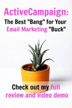 Here's why ActiveCampaign is the best email marketing solution for bloggers and online business owners. I shopped several alternatives before making the leap. Here's my full review and video demo. via @sidehustle Earn More Money, Ways To Earn Money, Make Money Blogging, How To Make Money, Best Business Ideas, Business Advice, Easy Money Online, Online Jobs, Marketing Automation