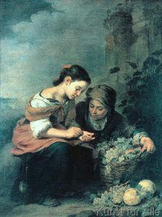 Bartolome Esteban Murillo - Die kleine Obsthändlerin