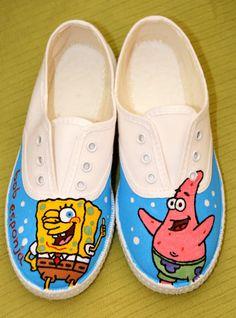 Zapatillas Customizadas y Pintadas a Mano: marzo 2011