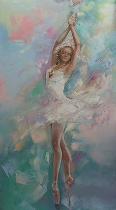 paintings of ballerina - Google Search