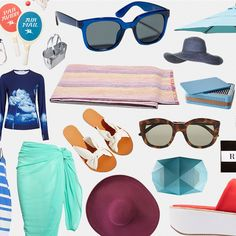 Everything You Need for a Day at the Beach, Minus the Suit