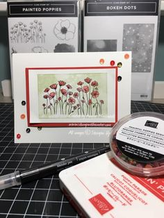 Handpainted blooms and watercolor washes make beautiful backgrounds or focal points on all your spring crafts. Line Art Images, Blender Pen, Focal Points, Beautiful Lines, Spring Crafts, Poppies, Stampin Up, Backgrounds, Hand Painted