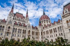 Any visit to Budapest, Hungary must include a stop at the stunning Parliament building. Click through to read about other things to see and do in Budapest. Visit Budapest, Budapest Hungary, Danube River, European Travel, Travel Europe, Beautiful Architecture, Eastern Europe, Barcelona Cathedral, Travel Inspiration