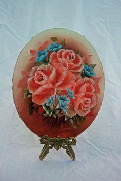 Oil Painting Floral by ATreasuredKeepsake on Etsy, $66.00