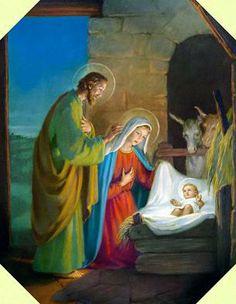 Misterios Gozosos..Birth of Baby Jesus..
