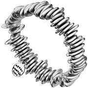 Bijoux Metal Pointu's - Bracelet Cheeta plaqué argent 925, Ø55mm