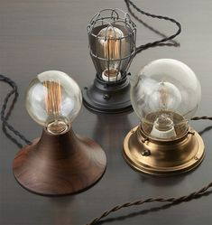 Aurora, Clover and Cranberry Lamps | Rejuvenation