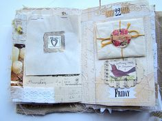 Remains of the Day Journal - 1/10 by melissamh, via Flickr