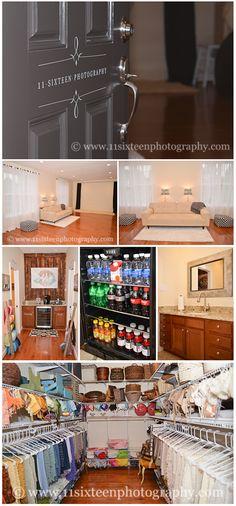 11 Sixteen Photography new studio, prop closet, organization, photography studio, newborn photography, clean studio design