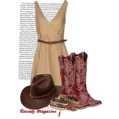"""Cowgirl Chic"" by cassidymagazine on Polyvore"