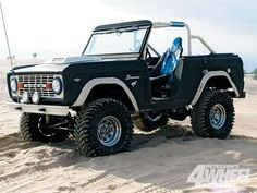 1975 Ford Bronco. I miss ours. Fun memories for a short time! I will have one again one day!