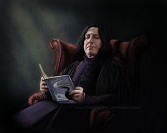 Potter frenchy party -  Visuels et illustration Harry Potter sur le web - 11 - Severus Rogue / Snape - printables, props, illustrations - master of pottions - hogwarts books