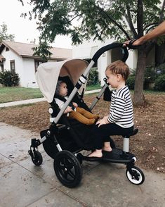 we finally found a setup for walking with a baby and a toddler! i tried a tandem stroller but it was too bulky. and even though adam can wal… – strollers Bugaboo Stroller, Toddler Stroller, Best Baby Strollers, Bugaboo Donkey, Baby Necessities, Baby Essentials, Baby Blog, Everything Baby, Baby Time
