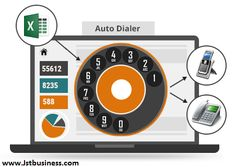 A automatic dialer (auto-dialer, autodialler) is an electronic system or programming that consequently dials phone numbers. Once the call has been replied, the autodialer either plays a recorded message or interfaces the call to a live individual. Business Operations, Programming, Plays, Numbers, Messages, Marketing, Live, Phone, Telephone