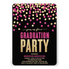 Shimmer & Shine | Graduation Party Invitation