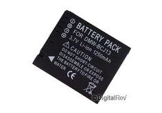 Image of AFT, BCJ13E battery, for, panasonic, LX5, LX7