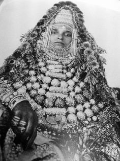 """Yemeni bride from the Jewish community 