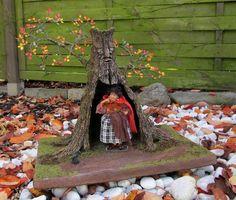 Large Fairy Tree done by Karin Caspar. Witch: Silke Janas Schloesser