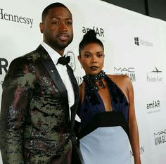 Dwyane Wade and his wife, Gabrielle Union-Wade.