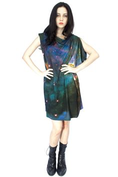 960e60e72553 Mystic Mountain Jersey Dress Penderie, Tenue Vestimentaire Galaxie,  Vêtements De Galaxie, Fendi,