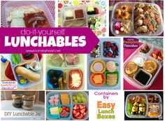 Win some serious mommy brownie points with these DIY Lunchables