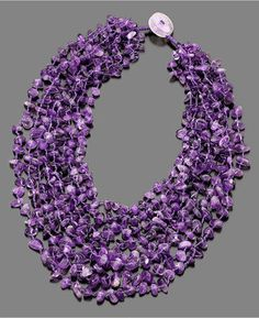 ShopStyle: Macy's Amethyst Necklace (900 ct. t.w.)