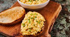 Retró tojáskrém újhagymával recept | Street Kitchen Penne, Salad Dressing, Hamburger, Grains, Salads, Rice, Cooking, Kitchen, Food