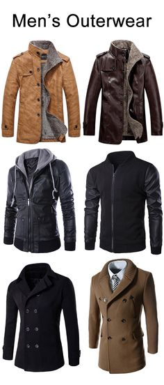 Men's Jackets For Every Occasion. Photo by Menswear Market Jackets are a must-have in the cold weather but it can also be used to accessorize an outfit. Mode Hipster, Camisa Lisa, Blue Puffer Jacket, Style Masculin, La Mode Masculine, Mens Fashion, Fashion Outfits, Fashion Styles, Well Dressed Men