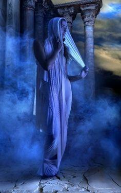 shades of blue dreams... artist Manuel Barca