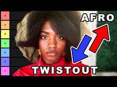 I ranked all natural hair. | Natural Hair Tier List