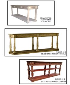 Occasional Tables - Red Barn Furniture Company